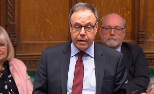DUP deputy leader Nigel Dodds responds to the latest Brexit statement. Pic PA wire
