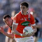 Looking good: Rory Grugan is liking what he sees from Armagh's early-season battles