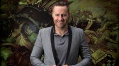 Mentalist, hypnotist, magician Keith Patrick Barry. Picture By David Conachy.