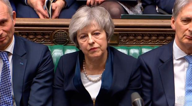 Prime Minister Theresa May. Pic PA wire