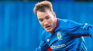 In demand: Albert Watson is a January transfer target for Larne