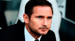 Keeping faith: Derby County manager Frank Lampard