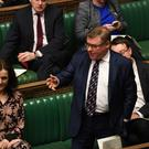 Mark Francois in the Commons (UK Parliament/Jessica Taylor/PA)