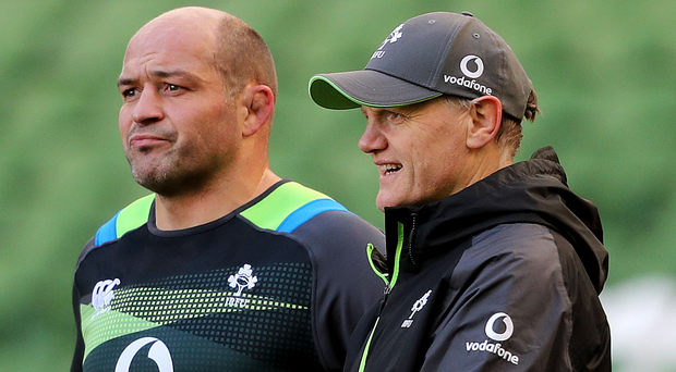 Captain Rory Best is joined by five other Ulster players in the squad