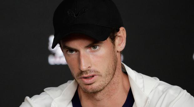 Decision time: Andy Murray is weighing up surgery options