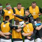 Big calls: Joe Schmidt had to disappoint several players
