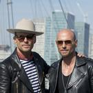 Matt (left) and Luke Goss of boyband Bros (Isabel Infantes/PA)