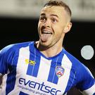 Crunch time: Coleraine's Darren McCauley could be set to make a move
