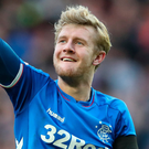 Going nowhere: Nottingham Forest have missed their chance to recall Joe Worrall from Ibrox loan