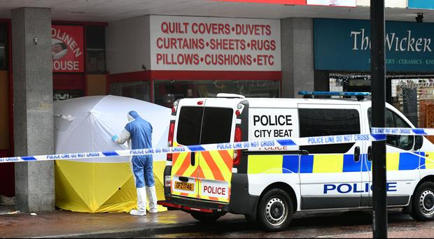 Police are investigating the sudden death of a man in Belfast city centre. Colm Lenaghan/Pacemaker Press