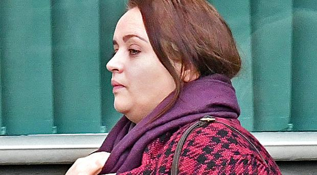 Christine Connor at Belfast Crown Court today where she was told she will face trial later this year charged with attempted murder of a police officer.
