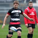 Iain Henderson is back in action earlier than expected for Ulster.