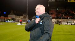 Sore point: David Jeffrey is still hurting from August's loss