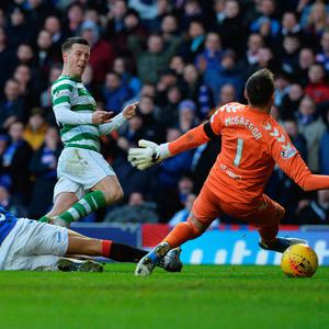 Unclear future: Callum McGregor is keen for Celtic skipper Scott Brown to stay