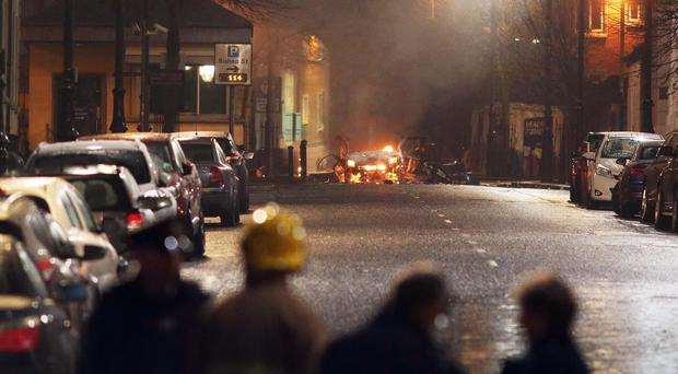 Auto bomb blast in Northern Ireland; no injuries reported