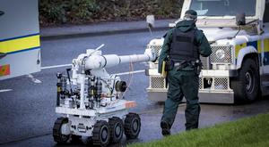 Police and Army Bomb Disposal teams during an operation in Poleglass area of west Belfast on January 20th 2019 (Photo by Kevin Scott for Belfast Telegraph)