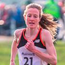 Six-hit: Fionnuala McCormack competes at Dundonald