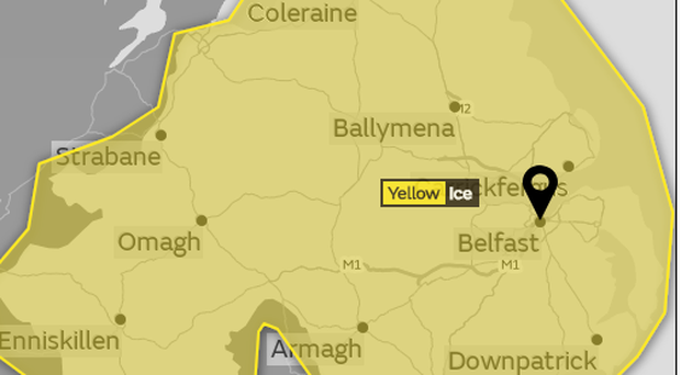 Snow-ice warning remains in place for Donegal