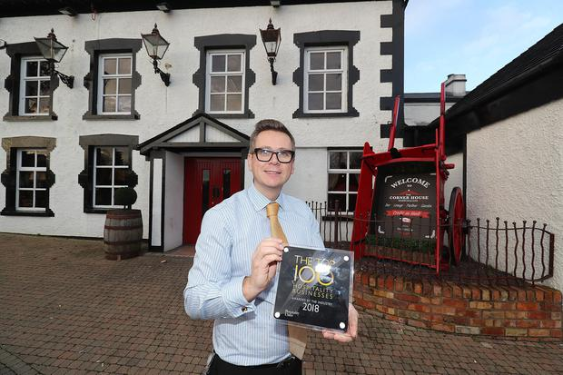 Trevor McCann who owns and runs Corner House Bar in Lurgan. (Photo by Colm O'Reilly, Sunday Life)