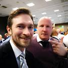 Martin Warhurst, left, was mistaken for Jan Siewert on Sunday and found himself featured in the club's official announcement of their new boss.
