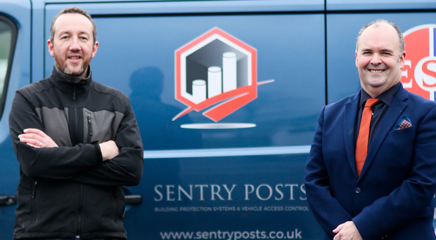 ESF's operations manager Andrew Doig (left) with the firm's managing director Alan Lowry