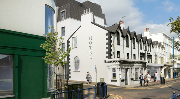 An artist's impression of the proposed Portrush hotel