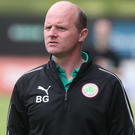 Former Cliftonville manager Barry Gray