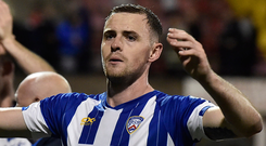 On move: Darren McCauley is set to join Inverness CT