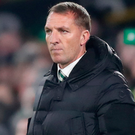 On the up: Brendan Rodgers