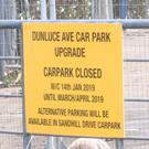 Dunluce Avenue car park is being upgraded ahead of the Open Championship. Credit: BBC