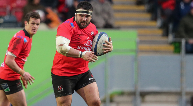 Familiar face: Ulster ace Marty Moore can't wait to take on his former side Leinster in Europe