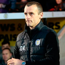 Near miss: St Mirren boss Oran Kearney