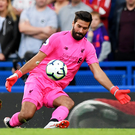 Safe hands: Alisson has been a fine addition for Liverpool
