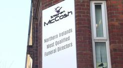 A Belfast funeral director has claimed he is the most qualified in the country. Credit: BBC.
