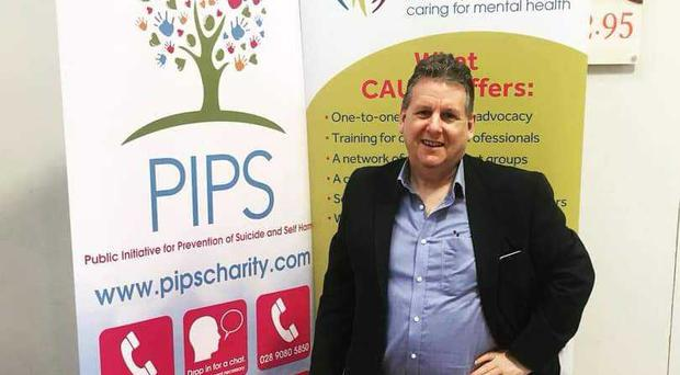 Alan McDowell has launched a crusade to battle the stigma surrounding mental health.