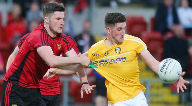 Scoring ace: Ryan Murray's accurate finishing can bolster Antrim against Derry in the Allianz League Division Four opener at Corrigan Park, Belfast on Sunday