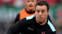 No rest: Rob Herring and Ulster have high expectations ahead of tomorrow's clash with Benetton at Kingspan Stadium