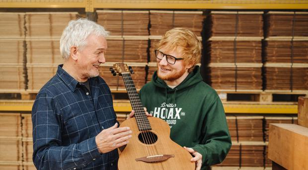 Singer songwriter Ed Sheeran has announced a collaboration with Northern Ireland based guitar firm Lowden (Bradley Quinn/Lowden Guitars)