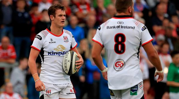 Billy Burns has come through return to play protocols to start for Ulster.