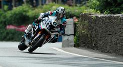 Carrying on: Michael Dunlop has decided to continue racing