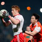 Lead role: Peter Harte is set to spark Tyrone's challenge against Kerry in Killarney