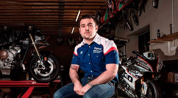 Tough decision: Michael Dunlop will race on after the death of his brother William