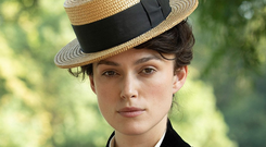 Literary ladies: Keira Knightley as Colette