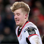 Frustration: Ulster's Rob Lyttle scored but was unhappy at end