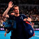 On the mend: Andy Murray has had hip surgery