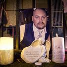 A vigil was held at Cluan Place where Ian Ogle was murdered on January 30th 2019 (Photo by Kevin Scott for Belfast Telegraph)