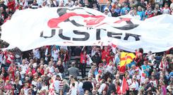 Ulster Rugby fans are set to travel in number to the Aviva Stadium in March.