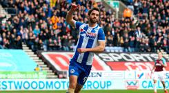 Big move: Will Grigg has joined Sunderland