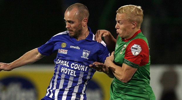 Newry and Glentoran are due to go head to head at the Showgrounds this evening.