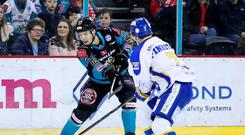 Ice cool: Josh Roach has been in inspirational form for the Giants